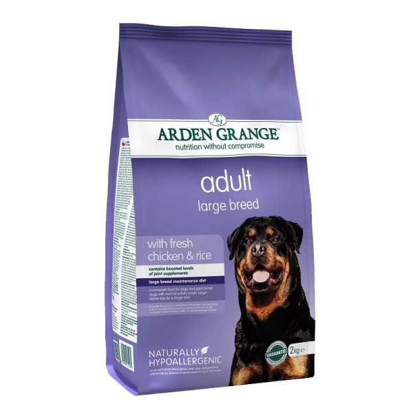 Arden Grange Adult Large Breed - с пилешко месо и ориз 12кг