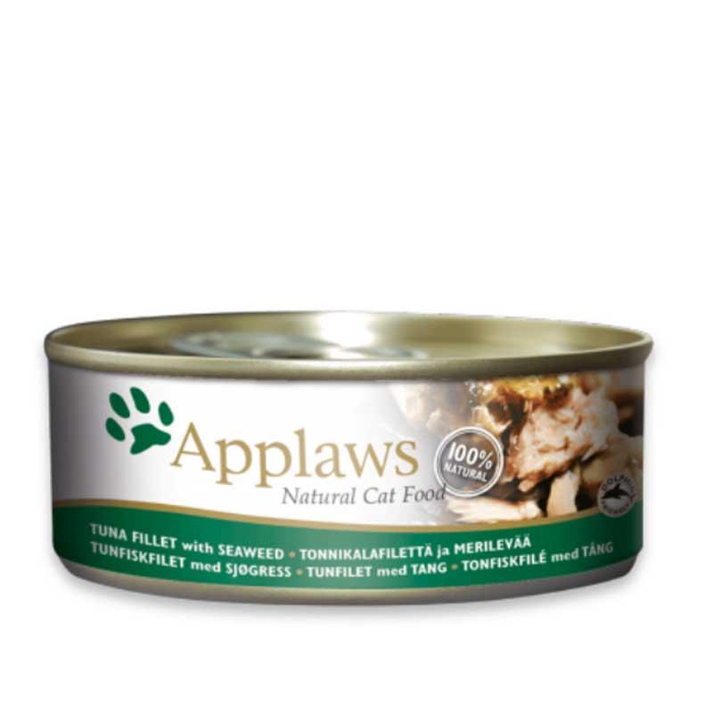 Applaws Tuna Fillet with Seaweed - консерва с риба тон и водорасли в бульон