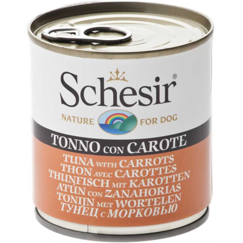 Schesir Nature Tuna with Carrots - с риба тон и моркови 285гр