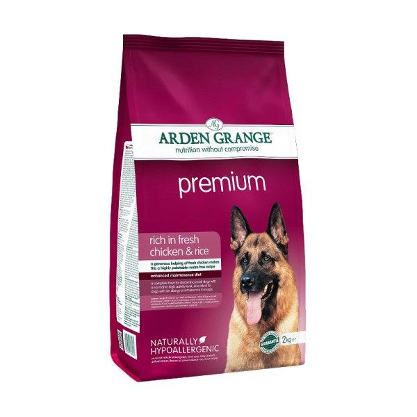 Arden Grange Аdult Premium - с пилешко месо и ориз 12кг