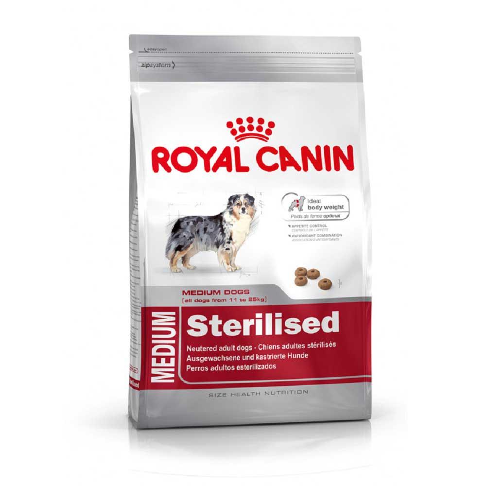 Royal Canin Medium Sterilised - за кастрирани кучета от стедните породи