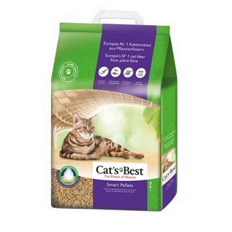 Cats Best Smart Pellets - котешка тоалетна за дългокосмести котки 10л