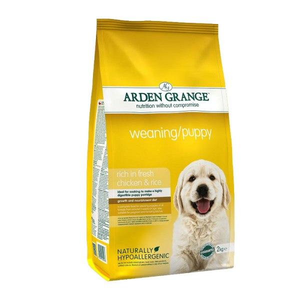 Arden Grange Weaning/Puppy - с пилешко месо и ориз