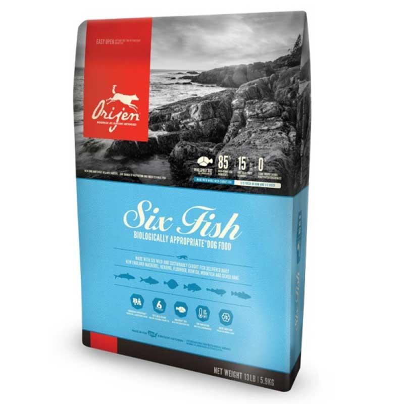 Orijen Six Fresh Fish /с шест вида риба/ 11.4кг