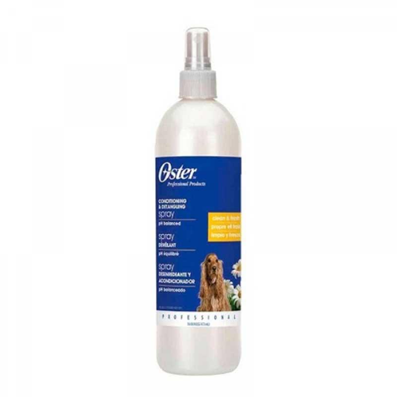 Oster Conditioning & Detangling Spray - Спрей за разресване с UV защита 473мл