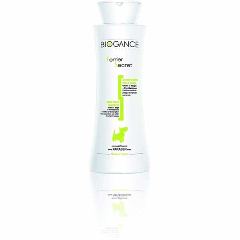 Biogance Wire Coat shampoo - за всички видове твърдокосмести кучета 250мл
