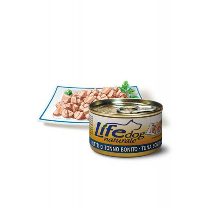 Life Natural Lifedog Tuna Bonito Fillets - с филе от риба тон 90гр