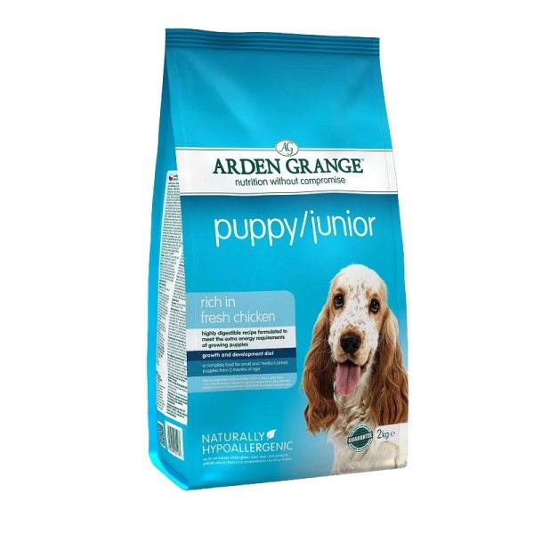 Arden Grange Puppy/Junior - с пилешко месо и ориз