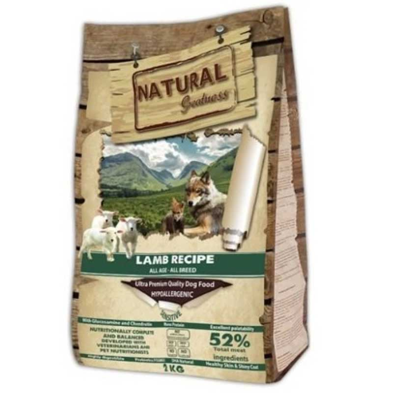 Natural Greatness Sensitive Lamb - Сенситив с аглешко месо