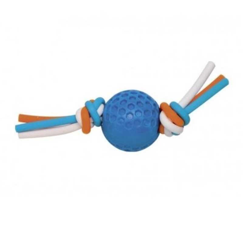 Nobby TPR - топка със силиконова лента 17/5см