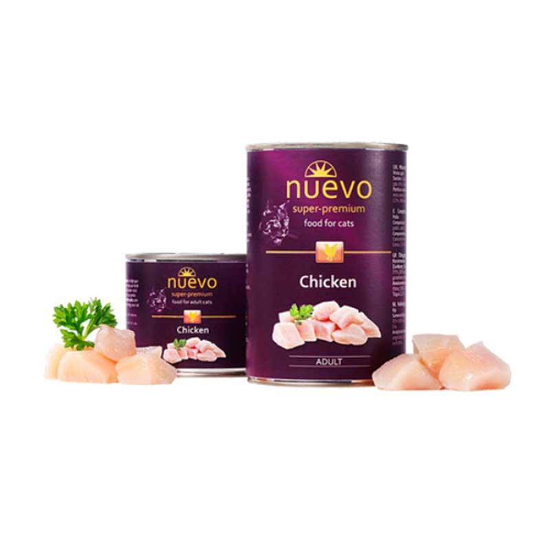Nuevo Cat Chicken - с чисто пилешко месо 200гр