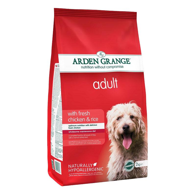 Arden Grange Adult Chicken & Rice - с пилешко месо и ориз 12кг + 2кг гратис