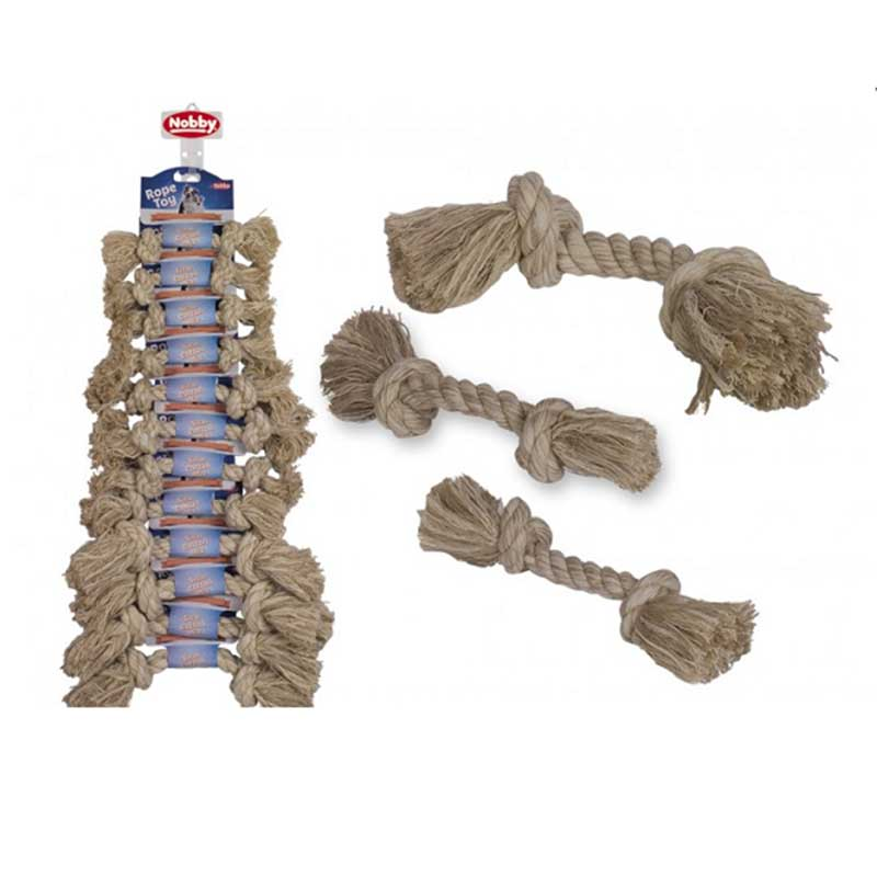 Nobby играчка въже сезал-памук