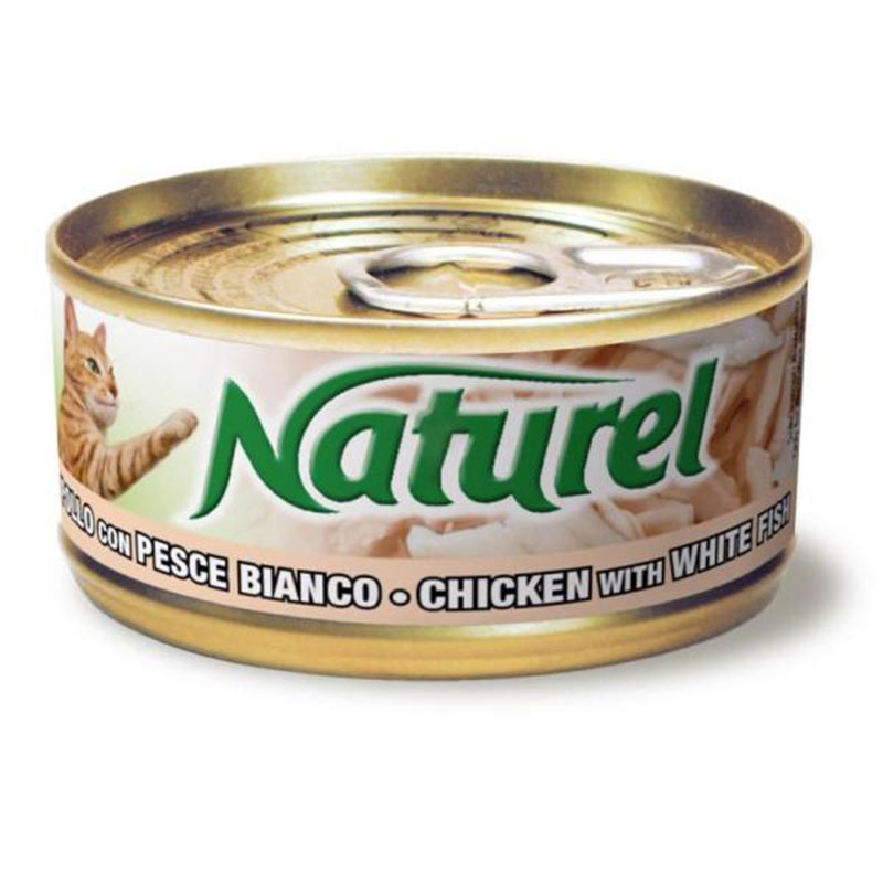 Life Natural Naturel Chicken with White Fish - с пилешко месо и бяла риба 70гр