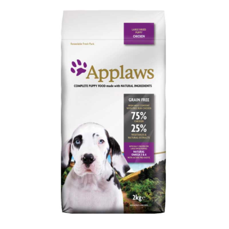 Applaws Puppy Large Breed Chicken - кучешка храна за кучета
