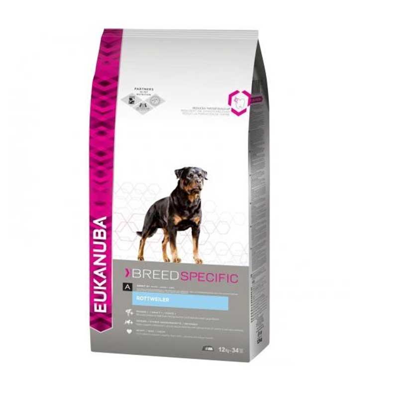 Eukanuba Rottweiler - за кучета от порода ротвайлер 12кг
