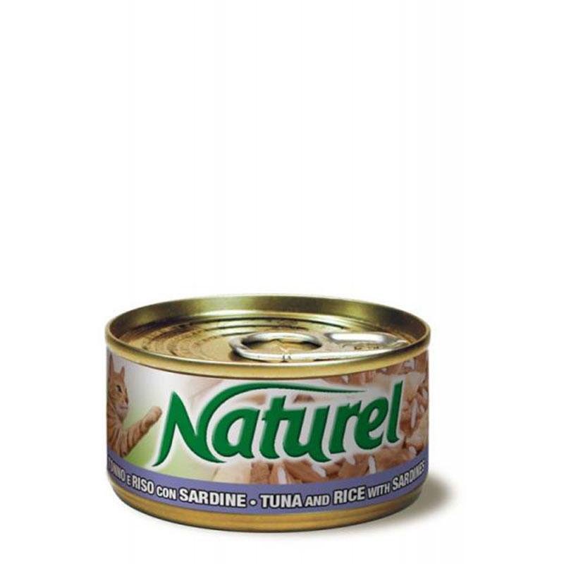 Life Natural Naturel Tuna and Rice with Sardines - с филе от риба тон, ориз и сардини 70гр