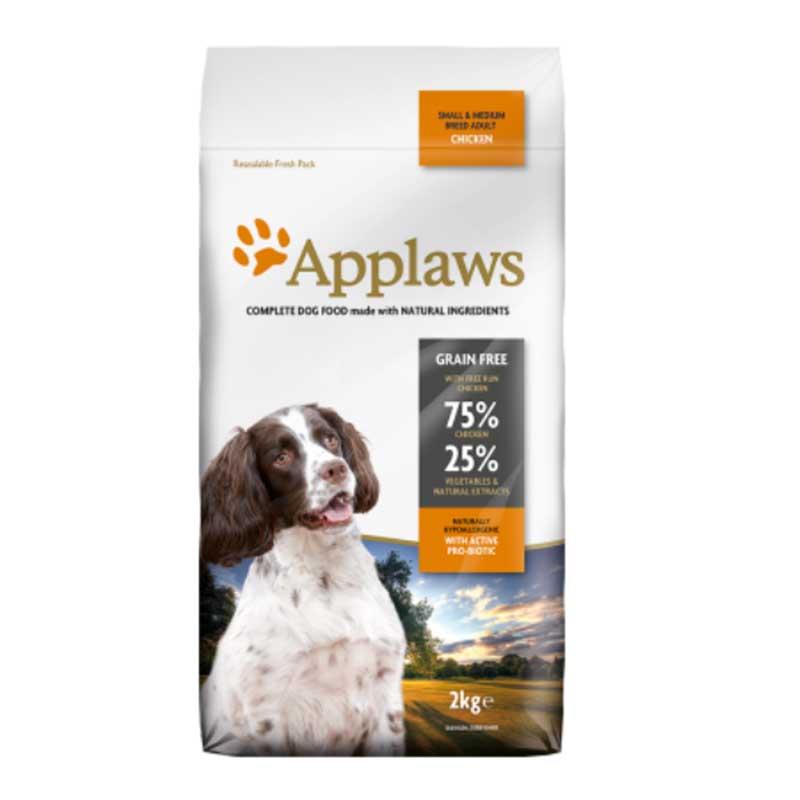 Applaws Small Medium Breed Adult Chicken - кучешка храна за кучета