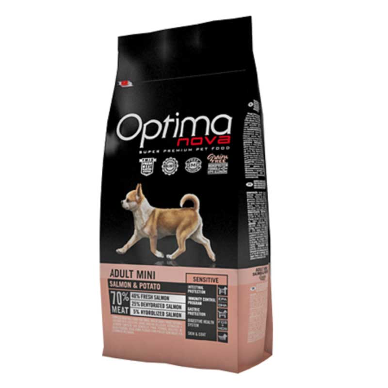 Optima Nova Mini Sensitive Salmon & Potato