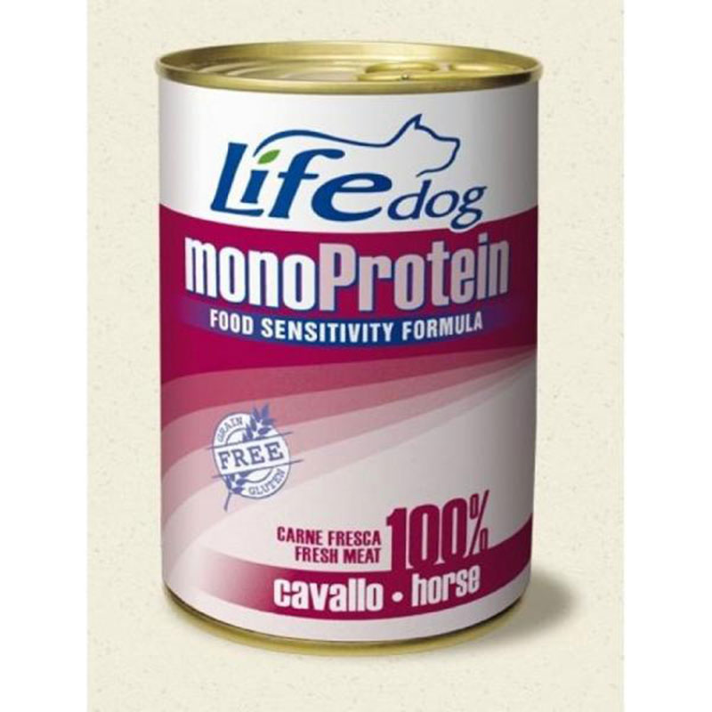 Life Natural Lifedog Monoprotein Horse - с конско месо 400гр
