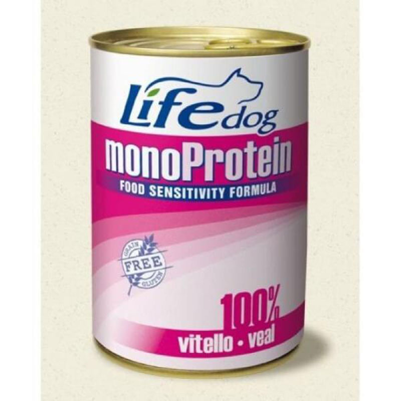 Life Natural Lifedog Monoprotein Veal - с телешко месо 400гр