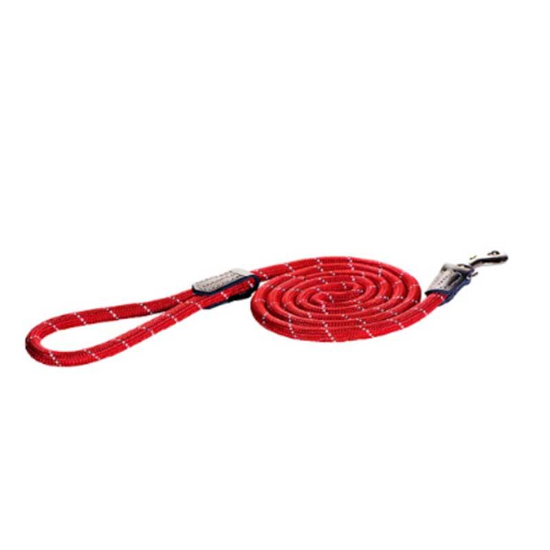 Rogz Rope C - червен повод