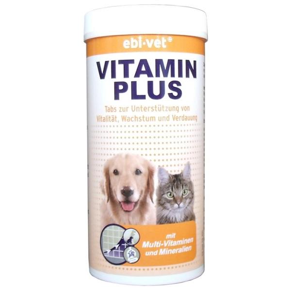 Ebi-Vet Vitamin Plus - Витамин Плюс за кучета и котки 150гр/300табл