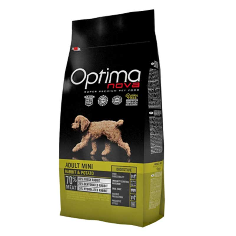 Optima Nova Adult Mini Digestive Rabbit & Potato