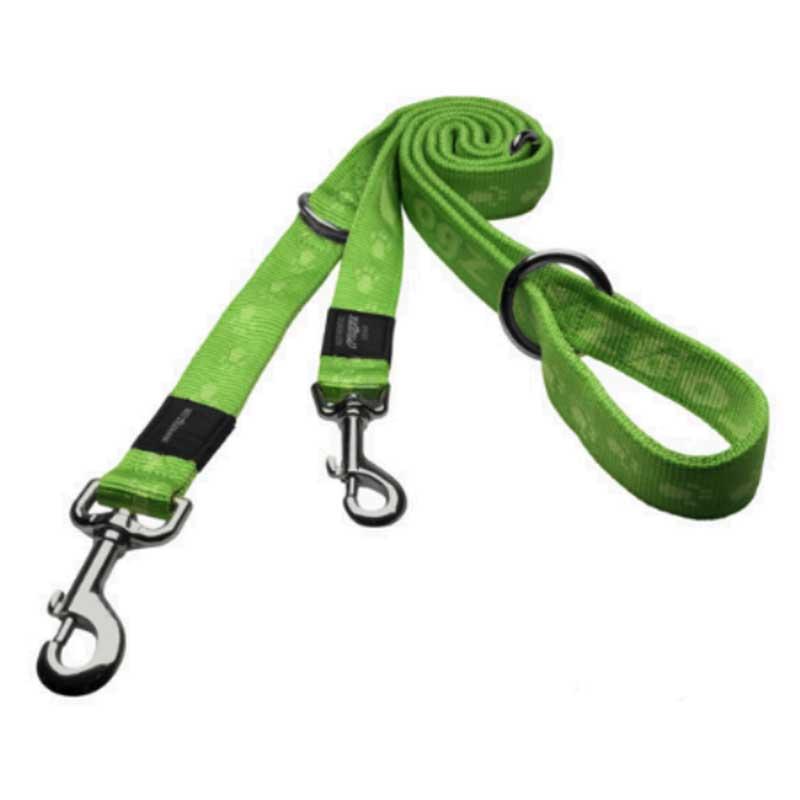 Rogz Alpinist G - зелен двоен повод за кучета