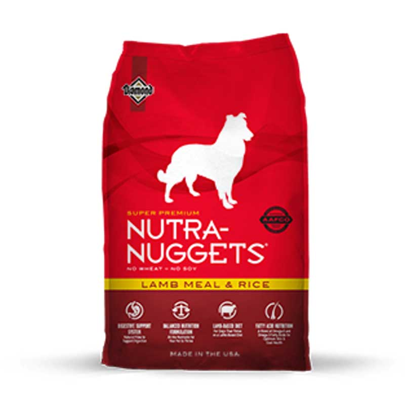 Nutra Nuggets Lamb Meal & Rice Formula - с агнешко месо и ориз 15кг