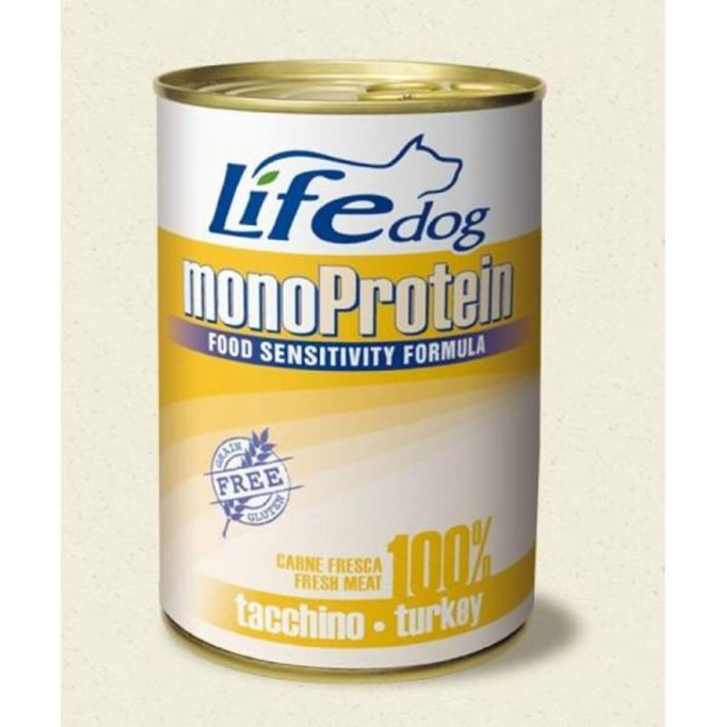 Life Natural Lifedog Monoprotein Turkey - с пуешко месо 400гр