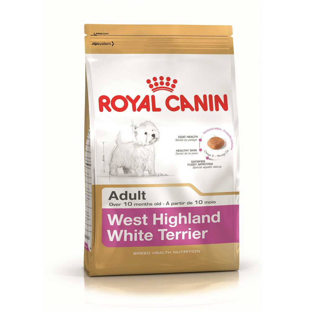 Royal Canin West Highland White Terrier 21 - за кучета от порода Уест Хайленд Уайт Териер