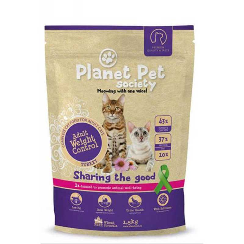 Planet Pet Society Adult for Weight Control Turkey