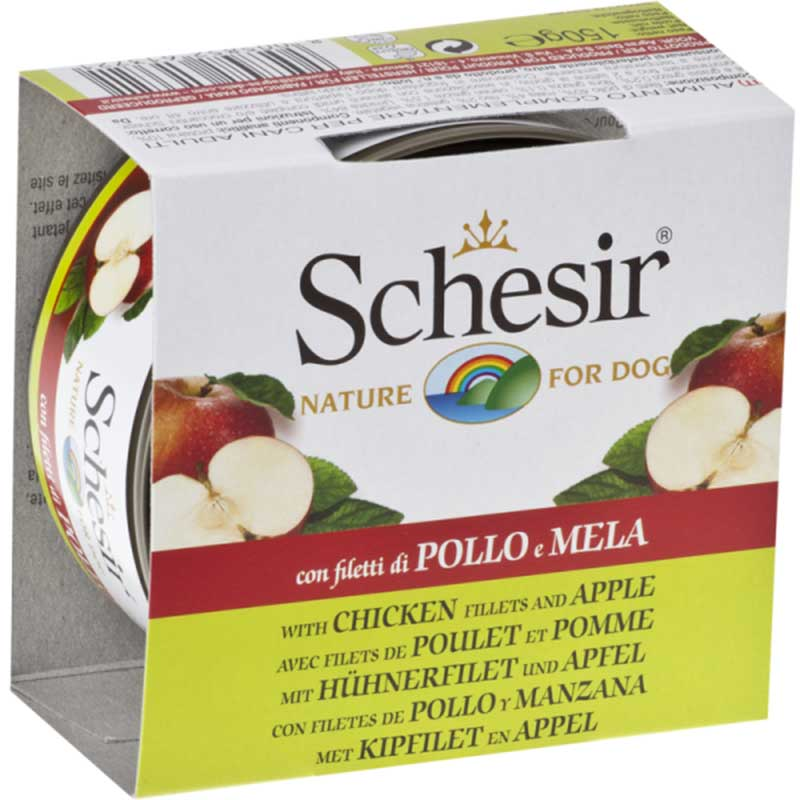 Schesir Nature Chicken and apple - с пилешко филе и ябълки 150 гр