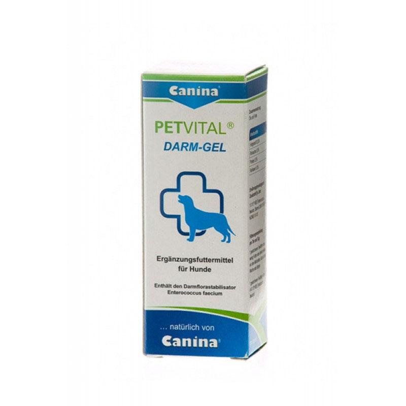 Canina Petvital Darm-Gel - регулира и стабилизира чревната флора 25мл