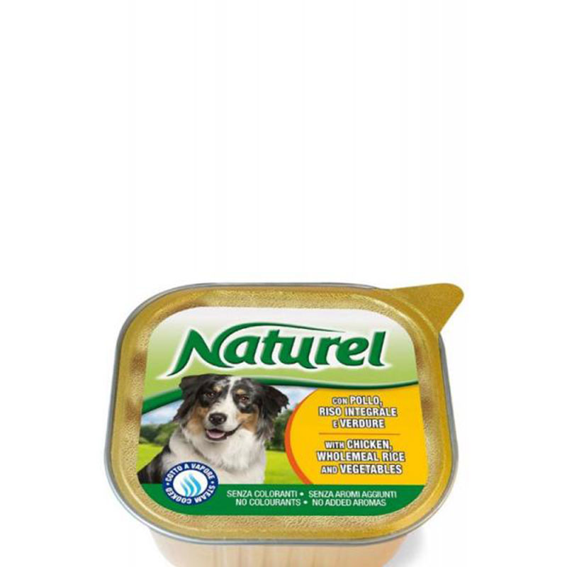 Life Natural Naturel Chicken, Rice and Vegetables - пастет с пилешко, ориз и зеленчуци 300гр