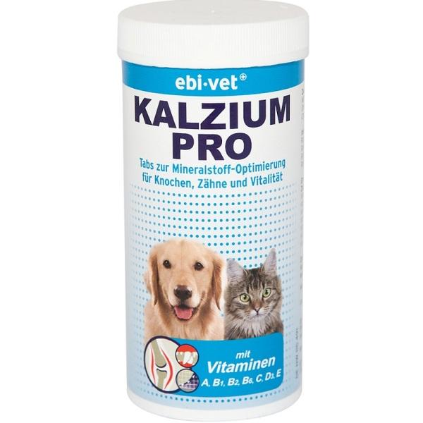 Ebi-Vet Kalzium Pro - калций на таблетки за кучета и котки 180табл
