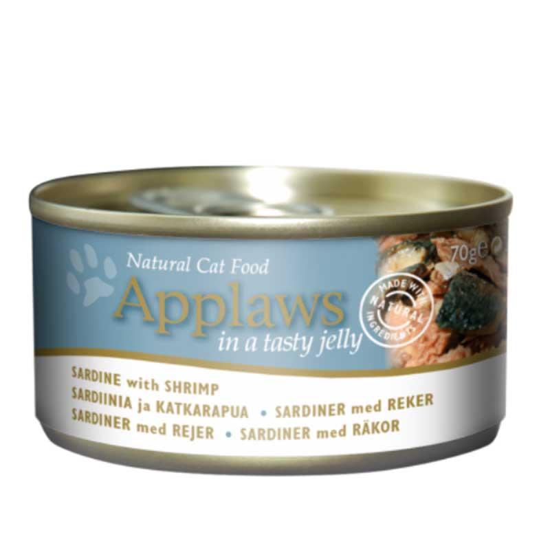 Applaws Kitten Tin – Sardine - консерва за котенца със сардини 70гр