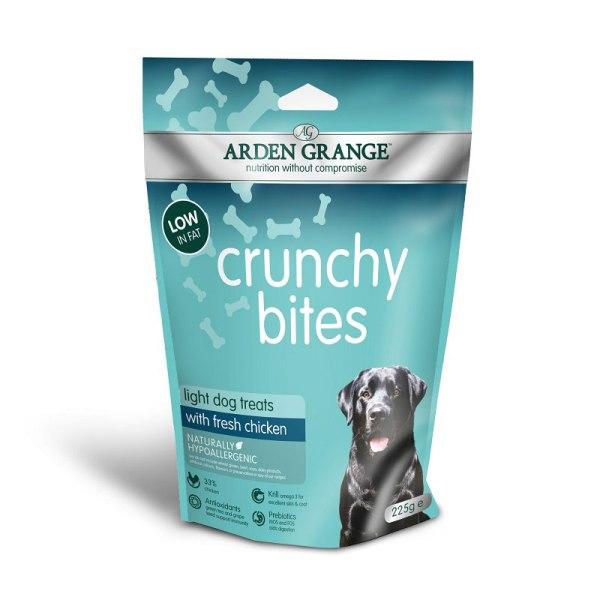 Arden Grange Crunchy Bites Light - хрупкави бисквити Лайт 225гр