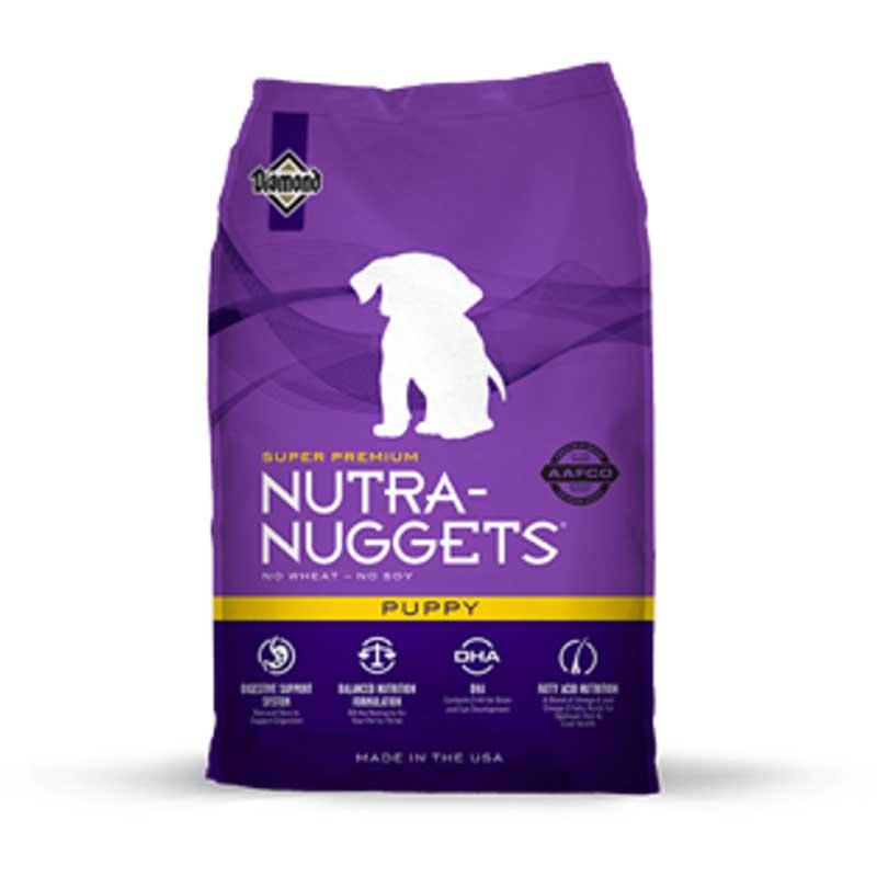 Nutra Nuggets Puppy - пълноценна храна за кученца 15кг