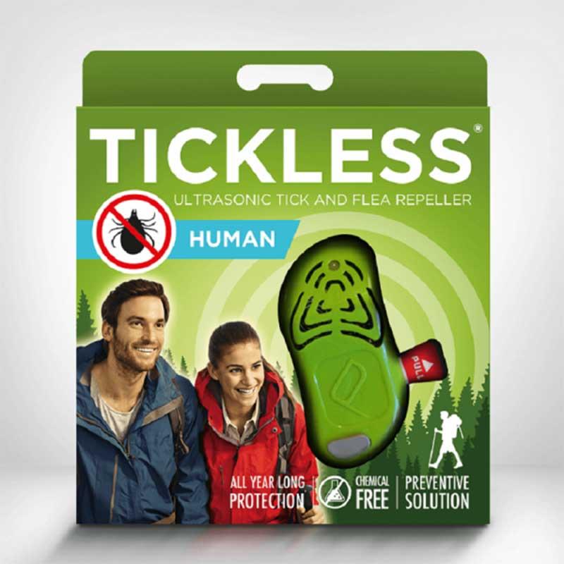 TickLess Ultrasonic Tick Repellent for Adults - електронен уред за предпазаване от кърлежи за деца над 3 годишна възраст и възр