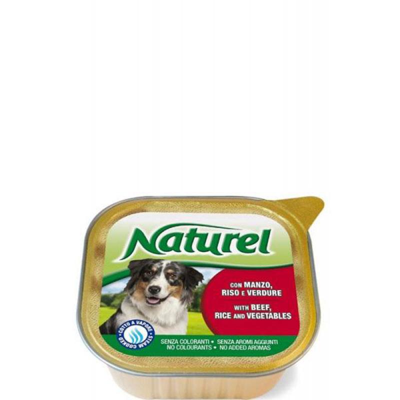 Life Natural Naturel Beef, Rice and Vegetables -  пастет с говеждо, ориз и зеленчуци 300гр