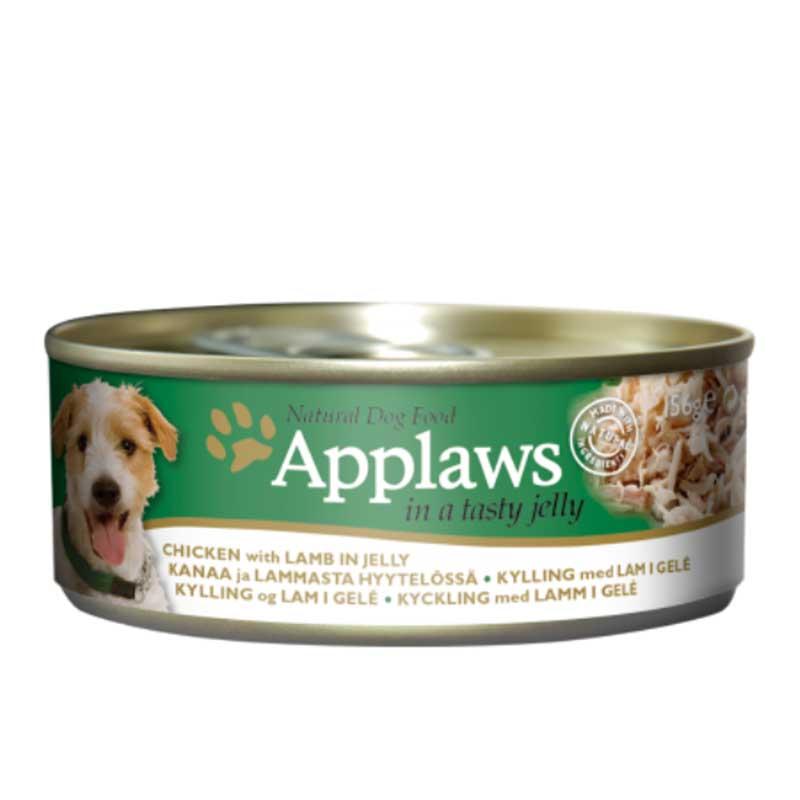 Applaws Chicken With Lamb In Jelly - месни хапки с пилешко филе и агне в желе 156гр