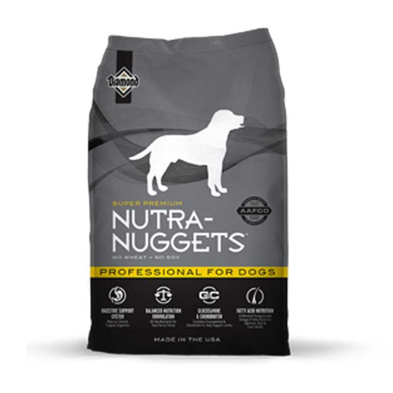 Nutra Nuggets Professional - пълноценна храна за кучета с интензивна физическа активност 15кг