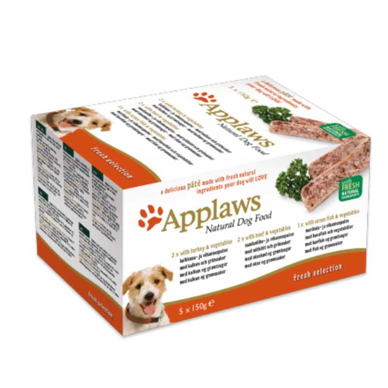 Applaws Pate Fresh Selection Multipack - пастет комбиниран 5х150гр
