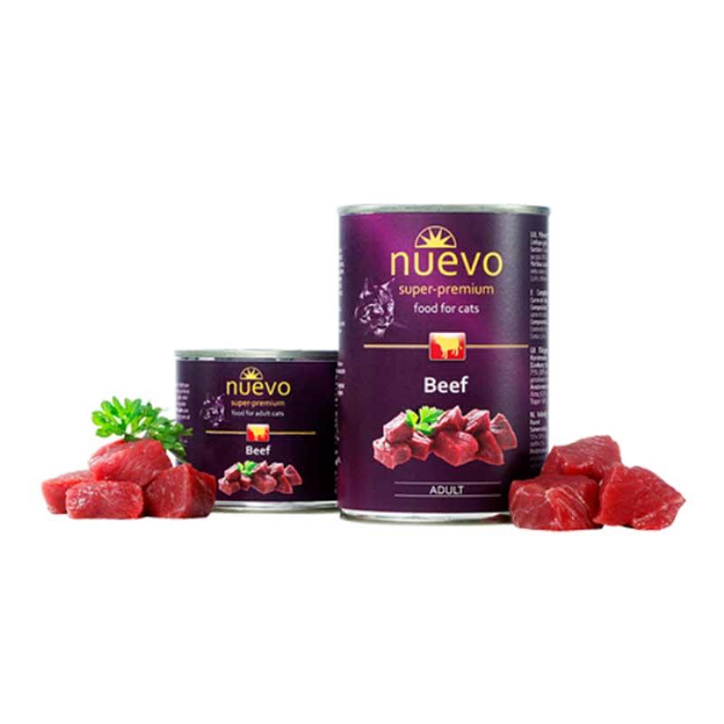 Nuevo Cat Beef - с чисто говеждо месо 200гр