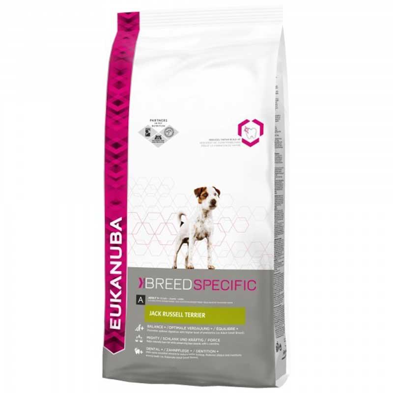 Eukanuba Jack Russel Terrier - за кучета от порода Джак Ръсел Териер 2кг
