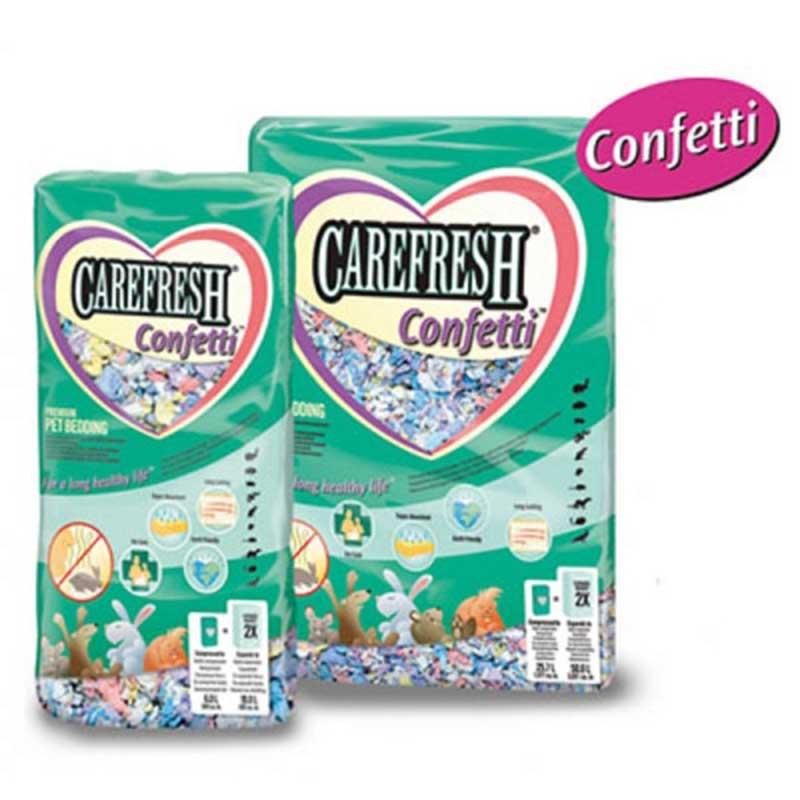 JRS Chipsi Carefresh Confetti - изработен от естествени целулозни влакна 10л