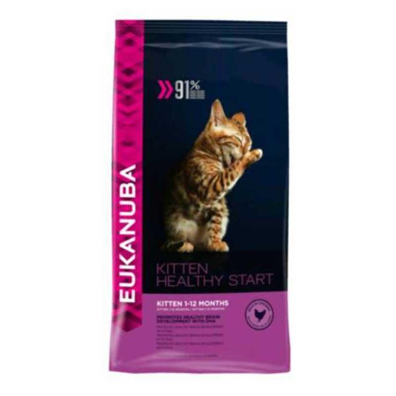 Eukanuba Kitten Complete - пълноценна храна за котенца от 1 до 12 месеца 10кг