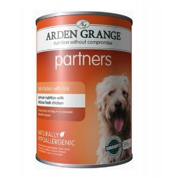 Arden Grange Partners - консерва с пилешко месо   5бр + 1 безплатна